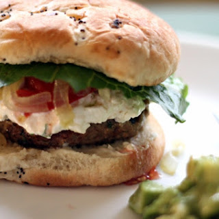National Cheeseburger Day | Juicy Turkey Burgers with Goat Cheese Recipe