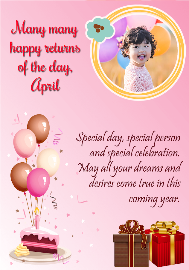 Birthday Greeting Cards Maker Android Apps on Google Play – Birthday Celebration Cards