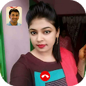 Hot Indian Girls Video Chat - Random Live Video icon
