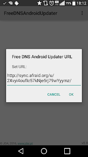 Free DNS Android Updater- screenshot thumbnail