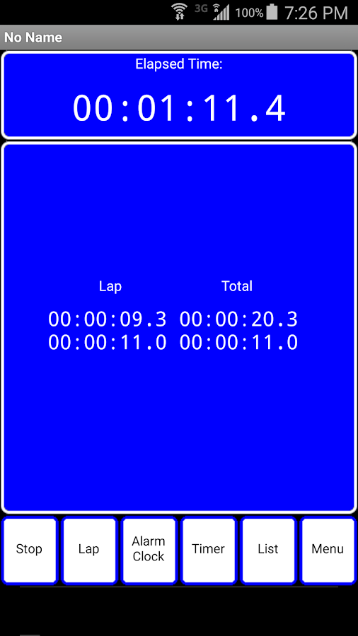 OneTouch Timer Ad Free- screenshot