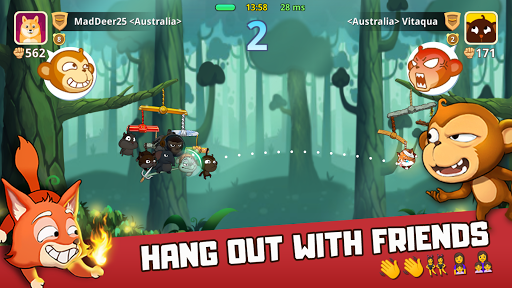 Critter Clash: Monkey Slingshot Battle Game image | 7