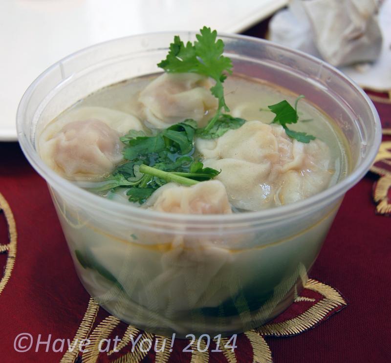 Fu Dao dumpling soup