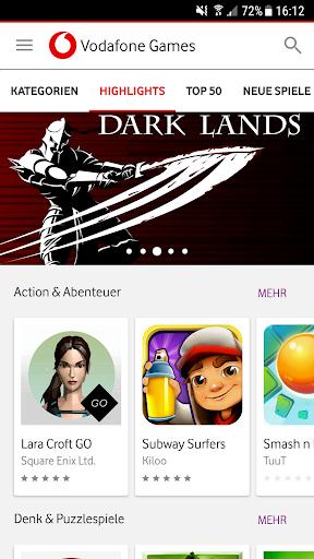Vodafone Games 1.6.2 screenshots 1