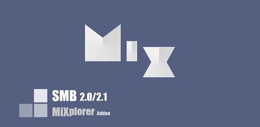 SMB 2.0/2.1 client for MiXplorer file explorer.