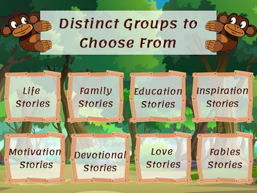 Moral Stories: Short Stories in English with Moral App