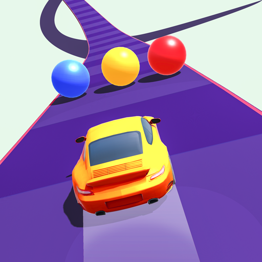Color Cars Road Rush