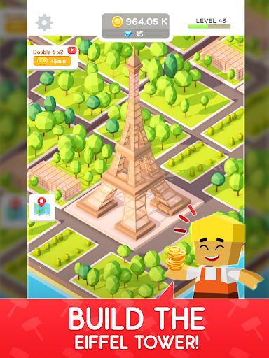 Idle Landmark Tycoon - Builder Game 1.28 Screenshots 11