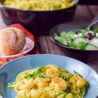 Sensational Shrimp Curry Noodle.