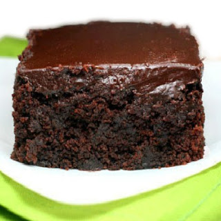 Triple Chocolate Sour Cream Zucchini Cake