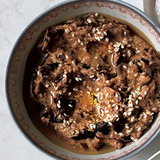 Charred Eggplant and Tahini Spread