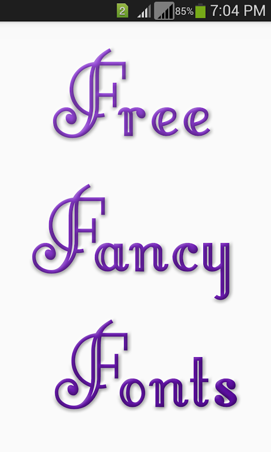 free fancy fonts android apps on google play
