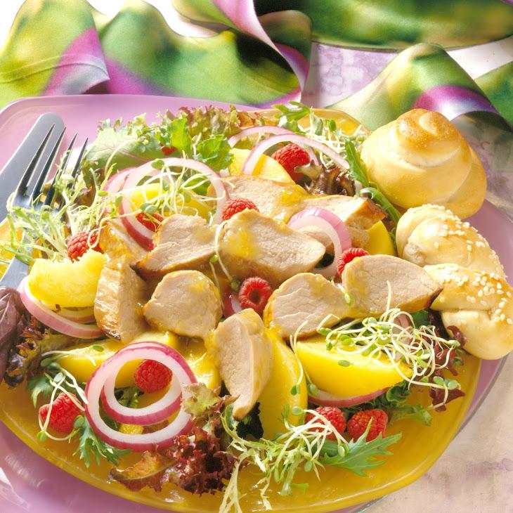 Peachtree Pork Salad Recipe