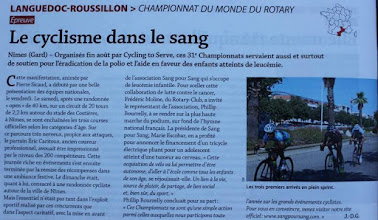 Photo: Merci to the Franch medias for accompaning our Championships