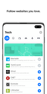 Cake Web Browser—Fast, Private, Ad blocker, Swipe Screenshot