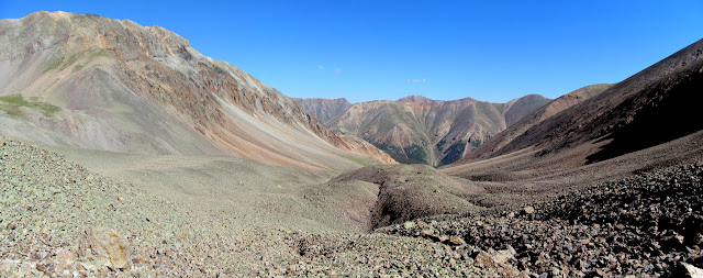 Panorama of the upper South Fork basin