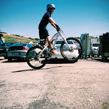 Photo: .Spring Break for the Bike Industry with racing, rides, and an expo. Huge air.
