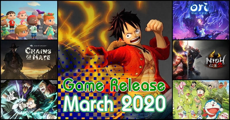 Game Release March 2020