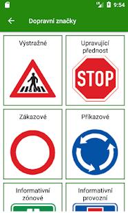 Dopravní značky v České republice - náhled