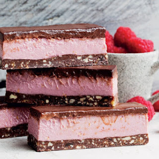 Raw Raspberry Slice.