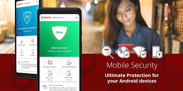 McAfee Mobile Security : Antivirus, Web Scan & App Lock 1