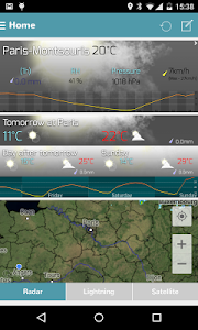 Infoclimat - live weather screenshot 0