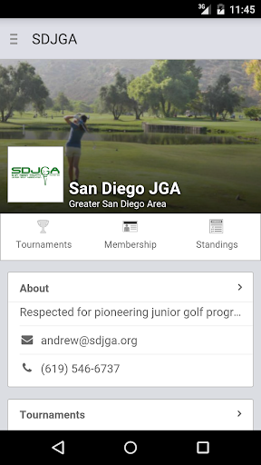 San Diego Junior Golf Assoc.