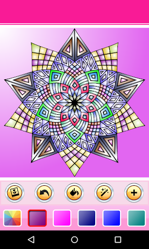 Coloring Book - Mandala HD