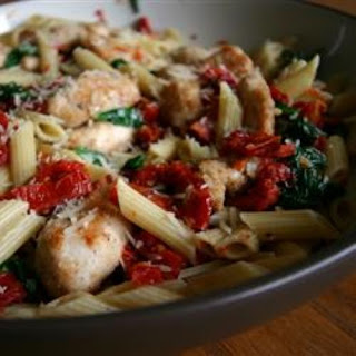 Pasta With Sundried Tomatoes And Spinach Recipes.
