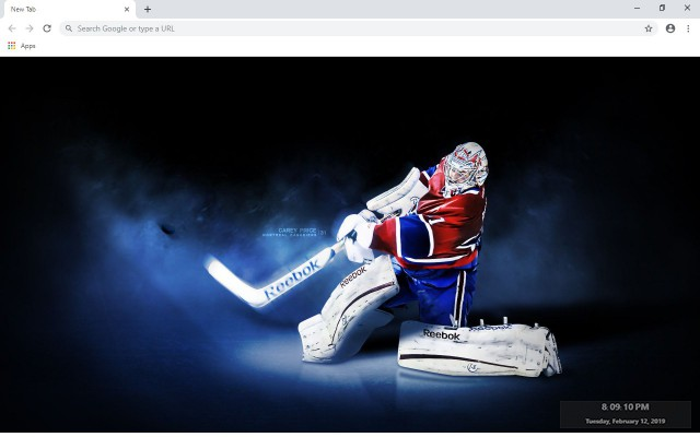 NHL Montreal Canadiens New Tab