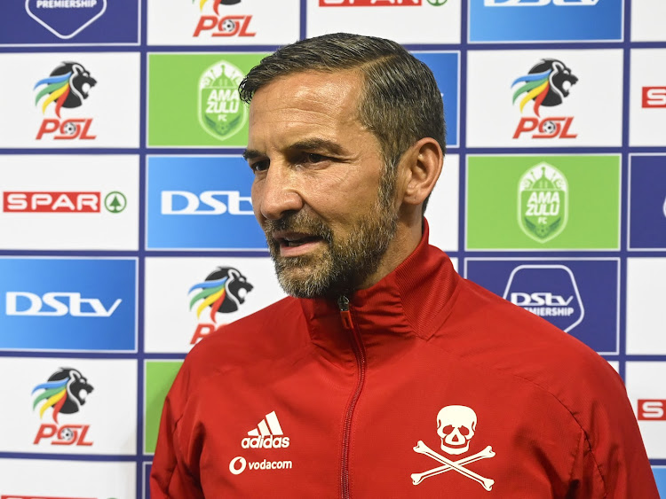 Orlando Pirates' German coach Josef Zinnbauer will be fully aware that the club's fans are yearning for a Premiership title.