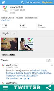 Radio vivafm.cl - náhled