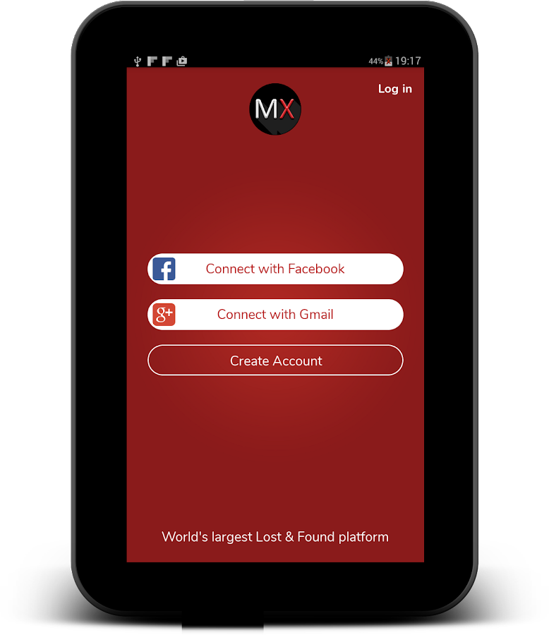 MissingX - Lost and Found App- screenshot