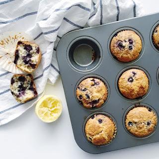 Lemon Blueberry Oat Bran Muffins Recipe