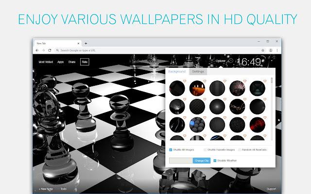 Black Themes Dark New Tab HD Wallpapers