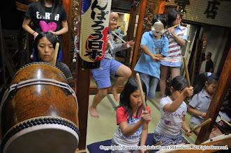 Photo: 【平成23年(2011) 宵々宮】  本番を想定した子供たちの演舞。