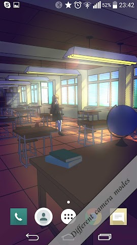 android Anime School 3D Free Screenshot 1