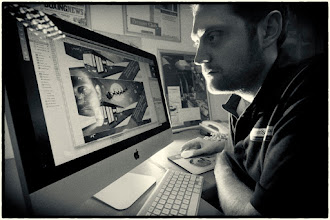 Photo: Meet Richard - the guy that creates all of the designs and print that enhances our chalkboard range