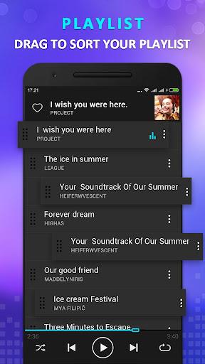 Pemutar musik KX 1.5.8 screenshots 4
