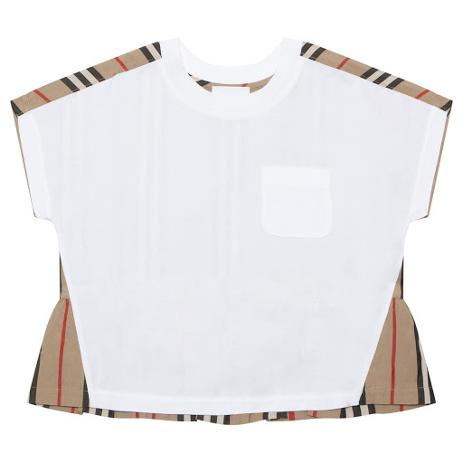 Primary image of Burberry Striped Back T-shirt