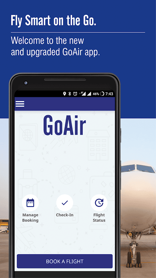 Go Airlines- screenshot