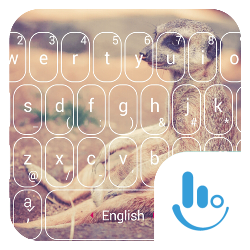 Cute Meerkat Keyboard Theme 個人化 App LOGO-硬是要APP