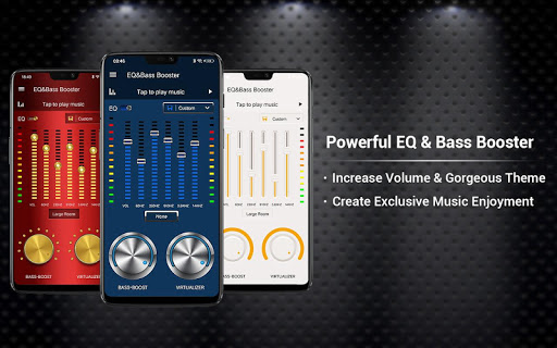 Equalizer -- Bass Booster & Volume EQ &Virtualizer