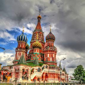 At Kremlin by Rakesh Das - City,  Street & Park  Historic Districts ( moscow, travel, kremlin )