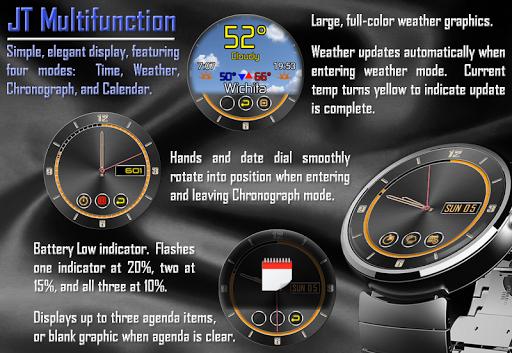 JT Multifunction Watchface
