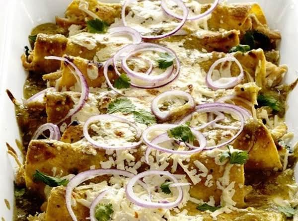 Chicken And Cheese Enchiladas Recipe