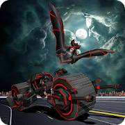 Moto Robot Transforming Bat Flying Robot Bike Game