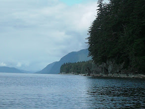 Photo: Approaching Point Anmer in Stephens Passage.