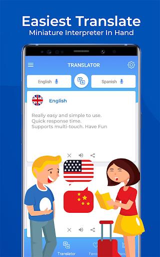 Speak & Translate - Miniature Interpreter In Hand screenshots 1