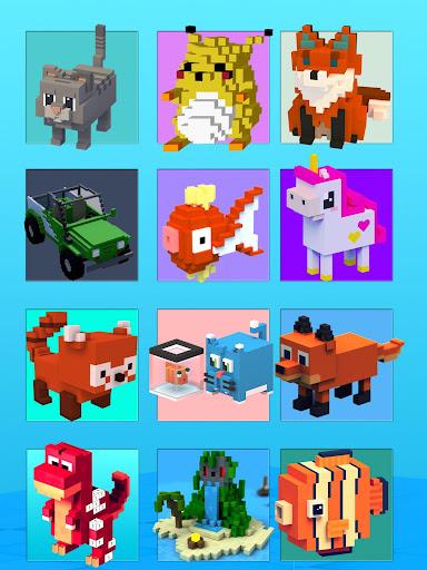 Color By Number Pixel Art 3D 1.0 screenshots 2